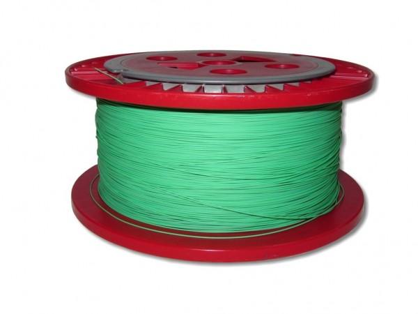 630m LWL Pigtailader 9/125µm OS2 trockene Kompaktader 0,9mm grün