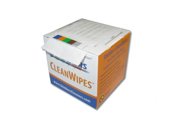 Sticklers WCS100 CleanWipes 600 - LWL Reinigungswürfel