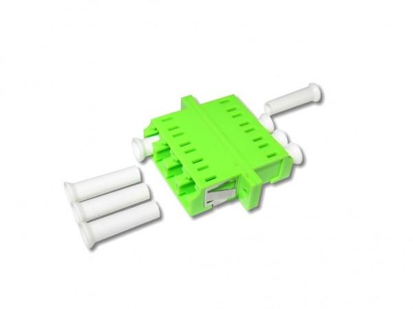 LC quad (4-fach) LWL Kupplung multimode OM5