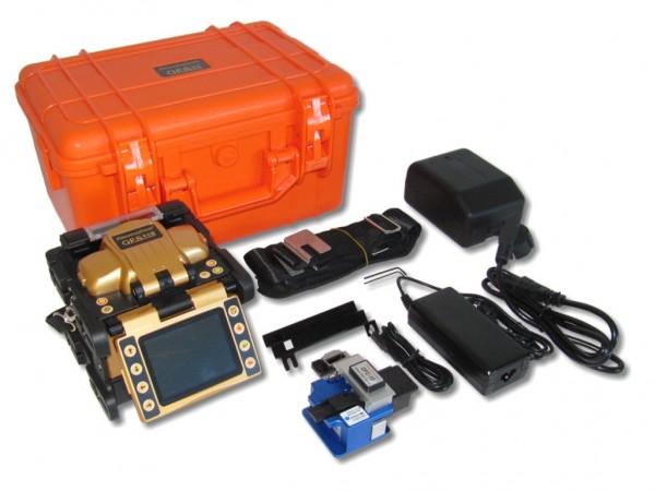 LWL Spleißgerät OFS-95S mit Kernzentrierung im Set mit Cleaver