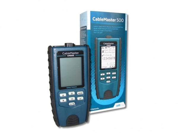 CableMaster 500 Kabeltester und Verdrahtungstester mit Längenmessung Softing