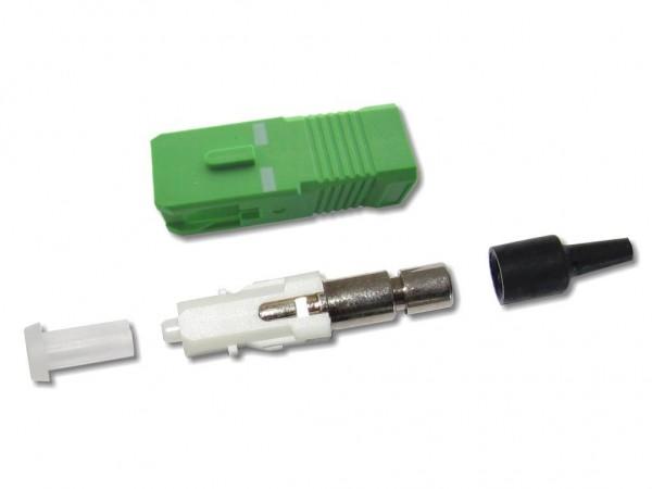 SC/APC-Stecker singlemode 0,9mm