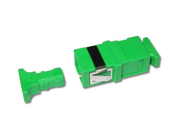 SC/APC-SC/APC simplex Kupplung singlemode ohne Flansch