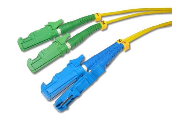 LSH/APC 8° - LSH/PC duplex Patchkabel HRL 9/125µm OS2