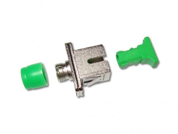FC/APC-SC/APC simplex LWL Kupplung mit Flanschbefestigung