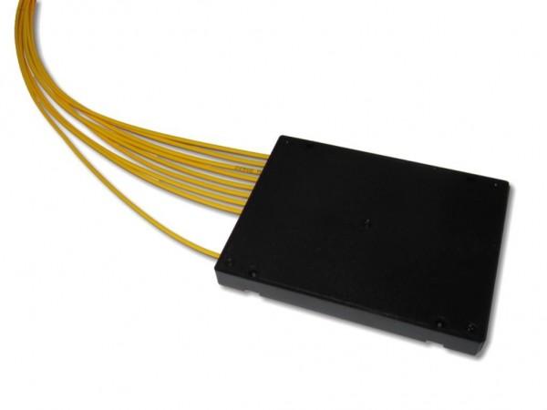 PLC Splitter 1x8 9/125µm G657A1 beidseitig 2m 2.0mm Kabel (ohne Stecker)