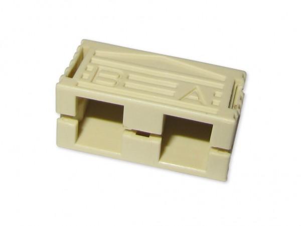 SC-duplex clip beige