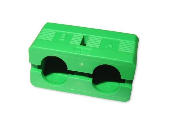 SC/APC-duplex clip grün