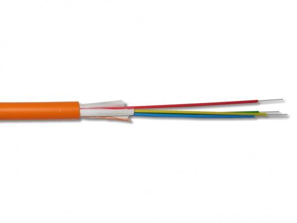 LWL Mini Breakoutkabel I/A-VQ(ZN)BH 4 G 50/125µm OM2