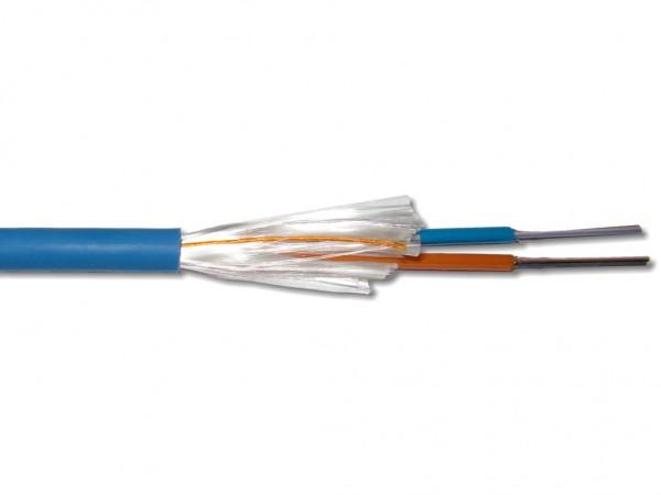 19m A/I-DQ(ZN)BH 2x12 G50/125µm OM3 LWL Universalkabel Restposten