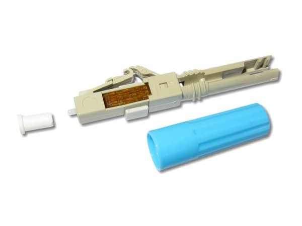 feldkonfektionierbarer LWL LC-Stecker multimode für 3mm