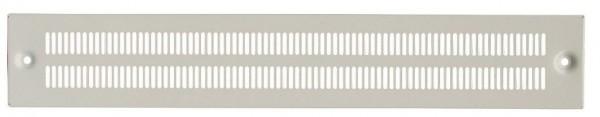 Sockelblende für 600mm Schrank perforiert, RAL7035