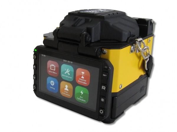 vollautomatisches LWL Spleißgerät Fiberfox Mini22A mit Cleaver