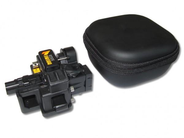 Fiberfox Mini50GB - professioneller LWL Cleaver / Faserbrechgerät mit automatischem Faserabtransport