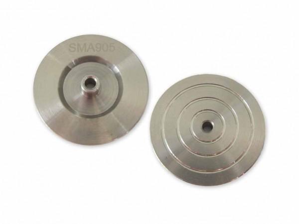 LWL Polierscheibe für SMA 905 Stecker polishing puck disc