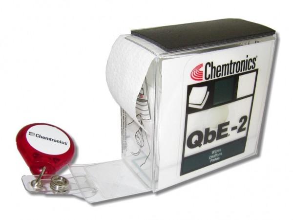 QbE-2 kompakte Reinigungsplattform für LWL Steckerreinigung im Taschenformat