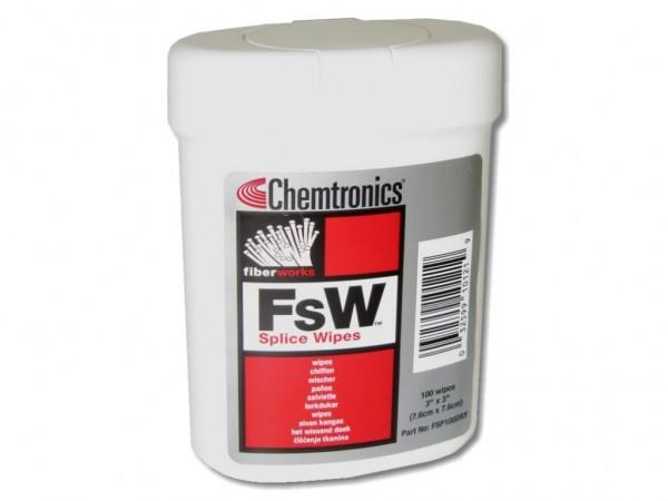 FSW Fusion Splice LWL Reinigungstücher (trocken) im Spender