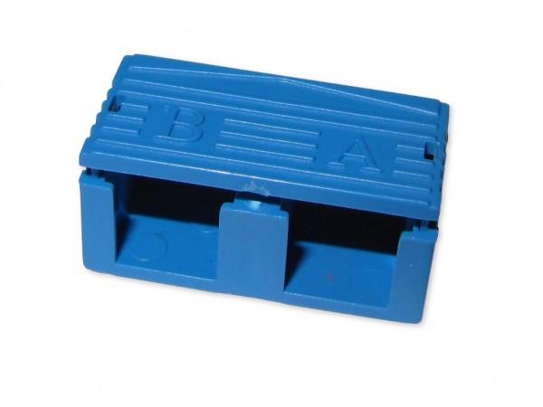SC-duplex clip blau
