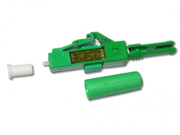 feldkonfektionierbarer LWL LC/APC 8° Stecker singlemode für 2mm Kabel