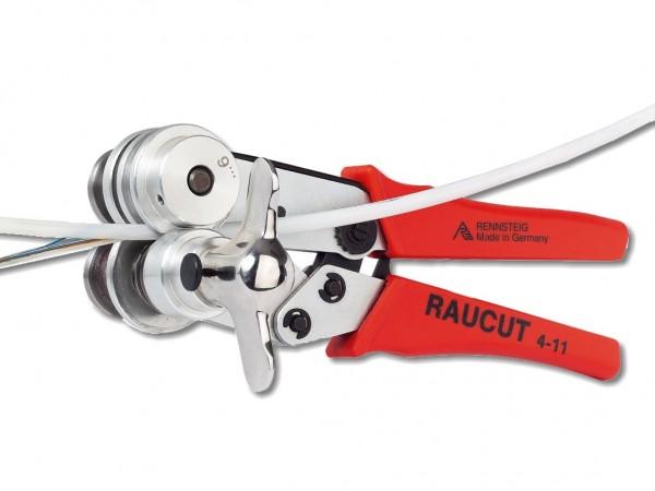 RAUCUT 2 Kit Bündelader Anschneidewerkzeug 5-10mm im Kunststoffkoffer