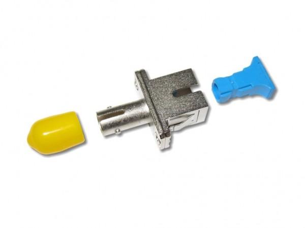 ST-SC simplex Kupplung Metallgehäuse