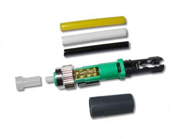 feldkonfektionierbarer LWL FC/APC Stecker singlemode universal für 250µm und 0.9/2.0/3.0mm Kabel Die feldkonfektionierbaren LWL