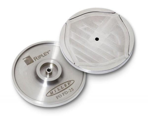 LWL Universal Polierscheibe für 2.5mm Ferrulen uns ST/SC/FC/DIN Stecker
