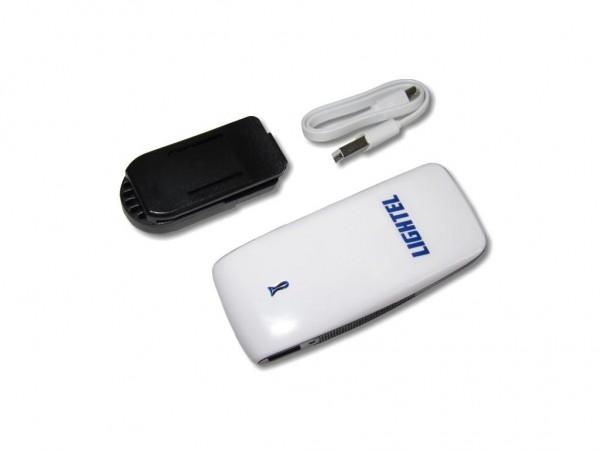 WiFi / WLAN Adapter und Akku für LWL Videomikroskop DI-1000