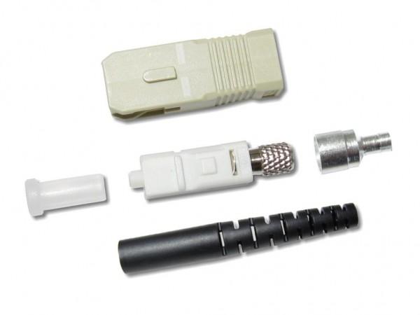 SC-Stecker multimode 2mm schwarz