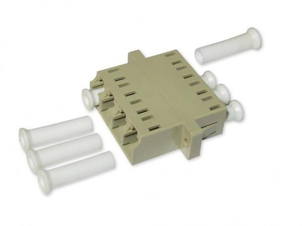 LC quad (4-fach) LWL Kupplung multimode