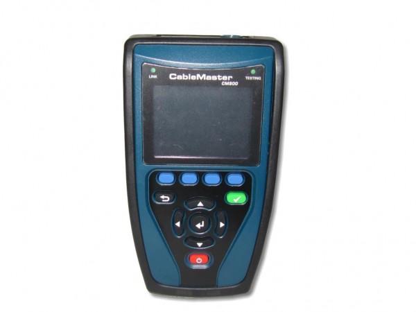 CableMaster 800 Profi Verkabelungs- und Netzwerktester