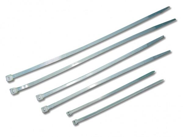 Kabelbinder 4,8 x 380 mm natur, 100er Pack
