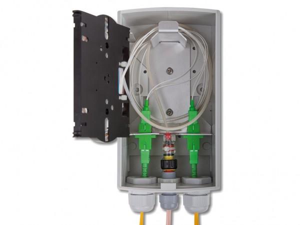 Kabelführungsabdeckung auf Grundplatte für FWB54-ORM4 und 8