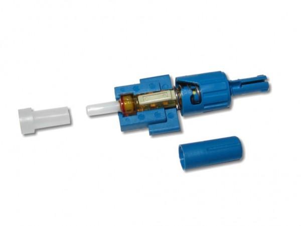 feldkonfektionierbarer LWL ST Stecker singlemode für 2mm Kabel