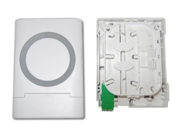 LWL FTTH Anschlussdose inkl. 1x LC-APC duplex Kupplung mit Shutter
