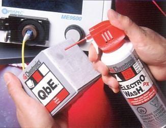QbE Reinigungswürfel für LWL Steckerreinigung