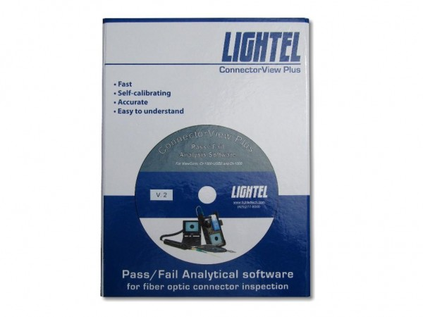 Lightel Connector View Plus Pass/Fail Analyse Software