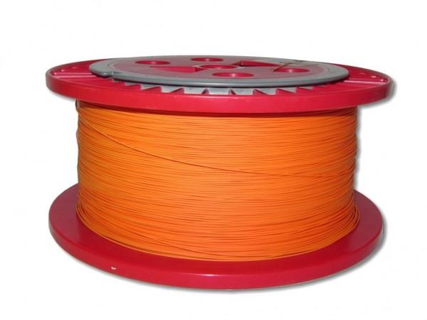 LWL Pigtailader 9/125µm OS2 trockene Kompaktader 0,9mm orange