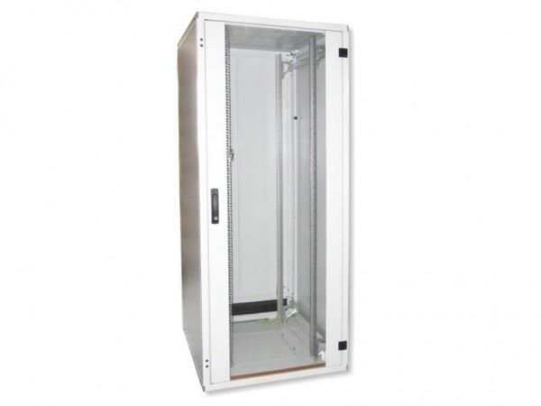"""19"""" Netzwerkschrank 42HE 800x800 mit Glastür"""
