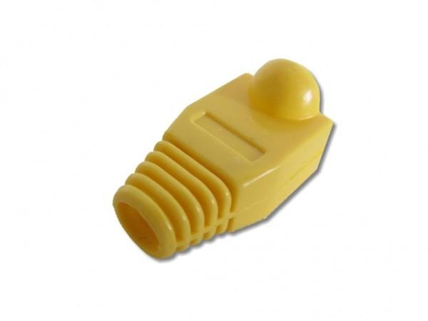 RJ45 Knickschutz, gelb