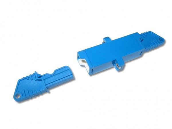 LSH simplex Kupplung singlemode blau