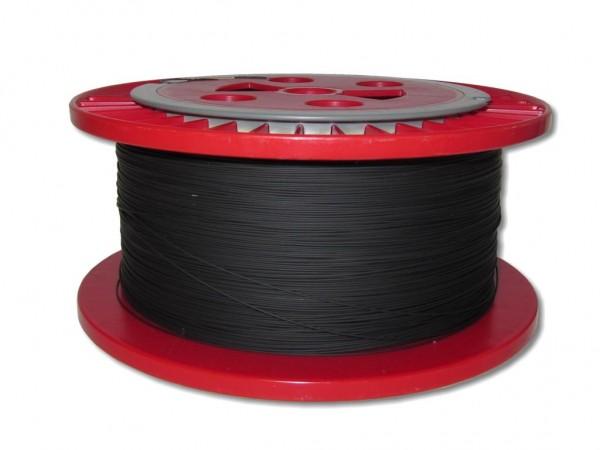 830m LWL Pigtailader 9/125µm OS2 trockene Kompaktader 0,9mm schwarz