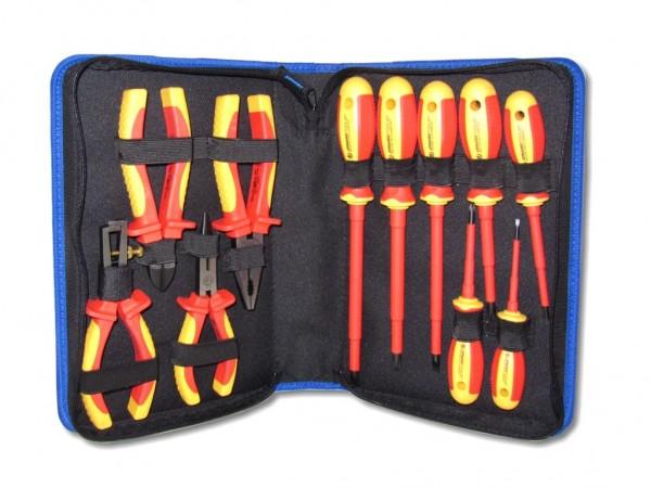 Jonard TK-110INS insulated tool kit Werkzeugkit 11 Stk isolierte Schraubenzieher Seitenschneider und Zangen