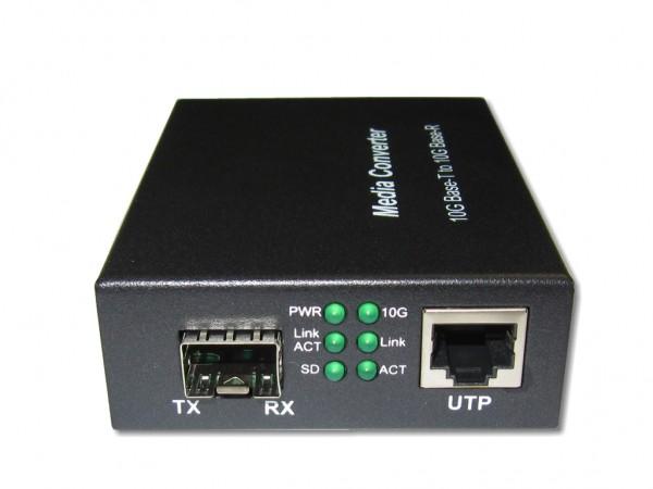 LWL Media Converter 10GBase-T RJ45 auf 10GBase-R für SFP+