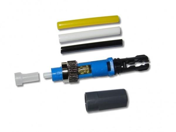 feldkonfektionierbarer LWL FC/PC Stecker singlemode universal für 250µm und 0.9/2.0/3.0mm Kabel