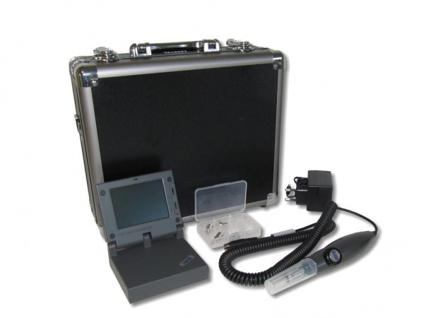 LWL Videomikroskop CI-1100 Lightel Inspection Probe mit Monitor