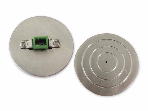 LWL Polierscheibe für LC/APC 8° Stecker polishing puck disc