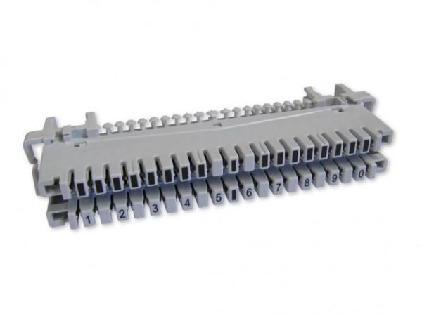 LSA 10 DA Anschlussleiste für Profil Rundstangen