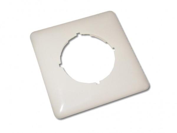 Abdeckrahmen für LWL-Dose 80x80 RAL1013