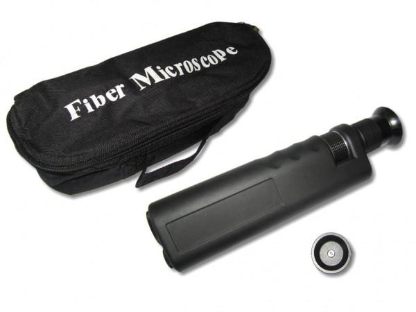 LWL Mikroskop 400-fach für 2,5mm und 1,25mm Ferrulen Handmikroskop